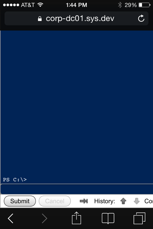 Remote Server Administration with PowerShell   DataYard