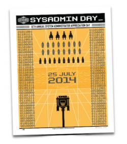 15th Annual SysAdmin Appreciation Day